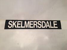 """Liverpool Destination Bus Blind Jan 1988 30"""" 2- Skelmersdale"""