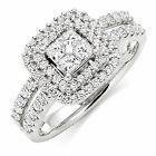 Beaverbrooks 18ct White Gold Diamond Ring - DB7122