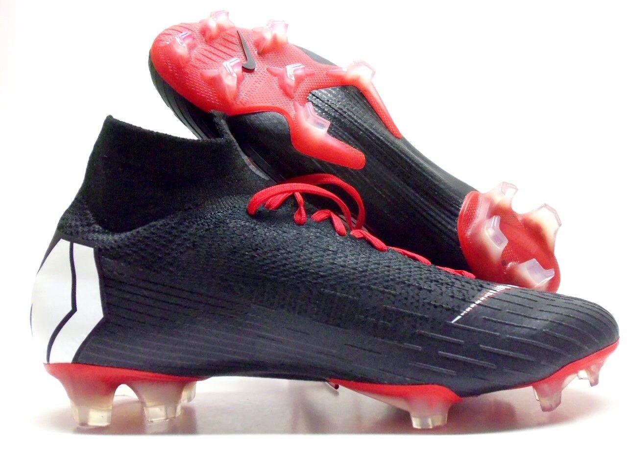 Nike superfly 360 calcio elite fg id acc calcio 360 galloccia nero / bianco uomini 7,5 [aq4857-991] 8186fe
