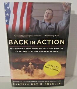 BACK-IN-ACTION-Signed-By-Author-David-Rozelle-HC-1st-Edition-amp-1st-Printing