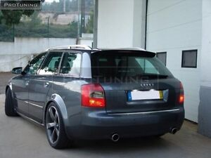 S4 Look Spoiler For Audi A4 B6 8h Avant Estate Roof Wing Cover