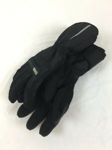 ICON MENS PDX WATERPROOF TEXTILE MOTORCYCLE GLOVES BLACK - S SMALL