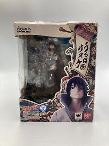 Naruto-Shippuden-Figuarts-Zero-Figure-Sasuke-Uchiha-14cm-Ships-From-USA-Open-Box