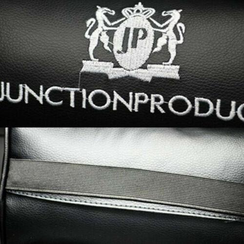 2x Preto Jp junção produzir Vip estilo JDM Carro Travesseiro Encosto de cabeça almofada de descanso