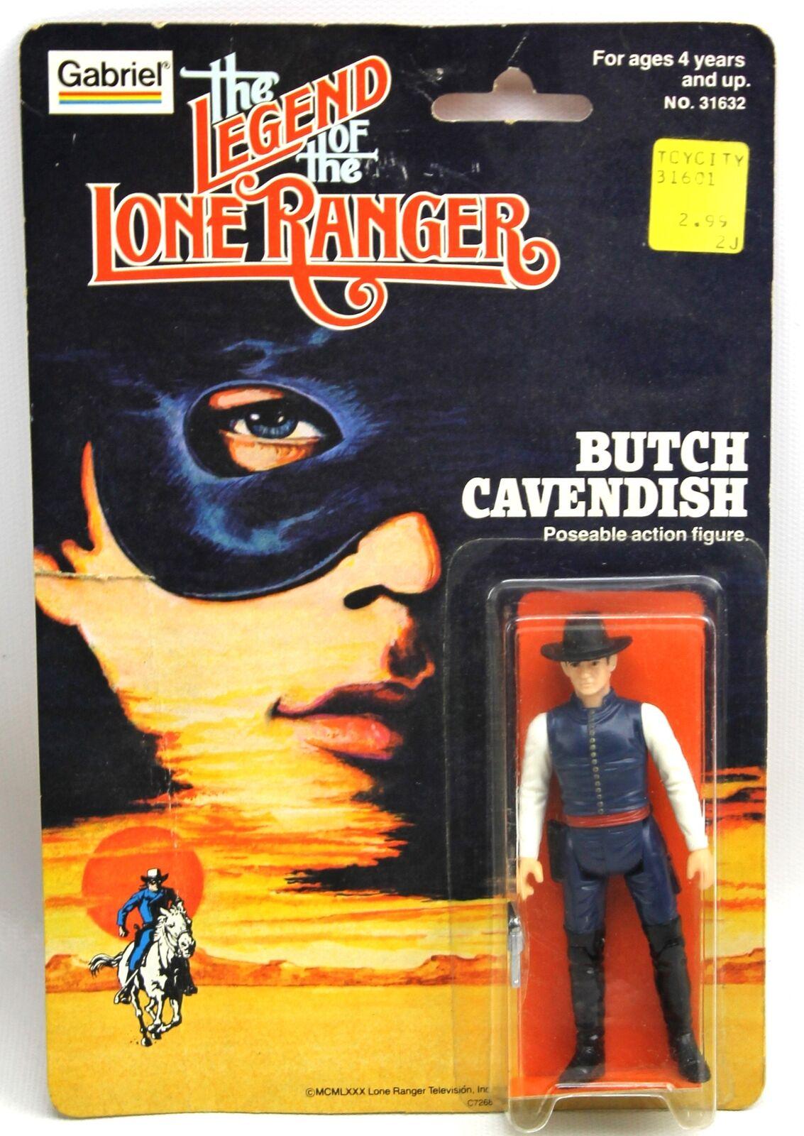 Nuevo 1980 Butch Cavendish Legend of the Lone Ranger muñeco Gabriel