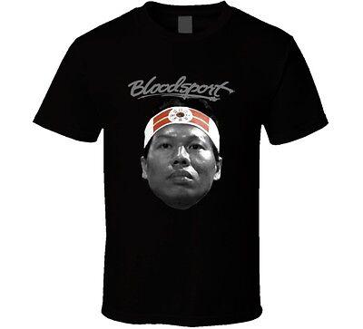 NEUF van damme Bloodsport Chong Li Bolo Yeung Kung Fu chinois Hercules T-Shirt