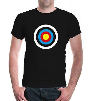 Energico Uomo Unisex A Maniche Corte T-shirt Bersaglio Sparare Arco Freccia Arco Dart Bull- L'Ultima Moda