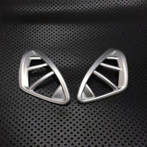 For Renault Captur 2013-2018 ABS Interior Upper Air Vent Outlet Cover Trim 2pc