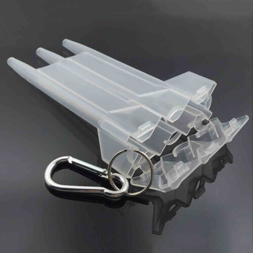 Darts Container Box Carry Case Wallet Pocket Holder Storage Bag Plastic 4  Uylj