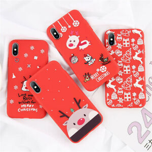 Christmas Phone Case Iphone 7.Details About Christmas Phone Case For Iphone 7 8 Plus X Xs Max Xr Santa Claus Soft Silicone T