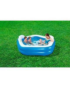 Diversion-en-familia-Piscina-Spa-Banera-de-natacion-al-aire-libre-Jardin-de-remar-Cojines-Relax