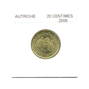 Autriche 2008 20 CENTIMES SUP