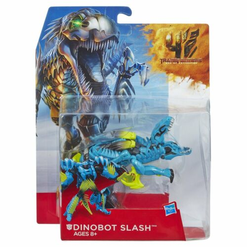 100% Hasbro Transformers Age of Extinction MV4 Deluxe DINOBOT SLASH