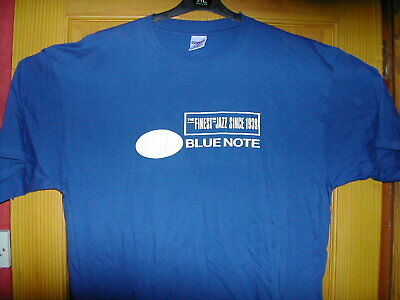 BLUE NOTE The Finest in Hot Jazz screenprinted tribute T Shirt