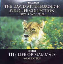 DVD Daily Mail Promo WILDLIFE COLLECTI David Attenborough THE LIFE OF MAMMALS