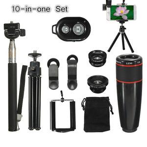 10-in-1-8X-Telephoto-Wide-angle-Macro-Camera-amp-Selfie-Stick-Tripod-Stand