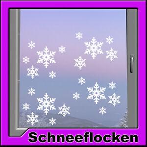 Fenster bild schneeflocke window schnee aufkleber - Winterdekoration fenster ...