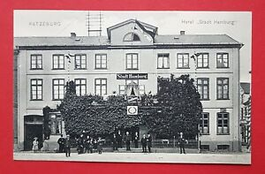 AK-RATZEBURG-um-1910-Hotel-Stadt-Hamburg-27882