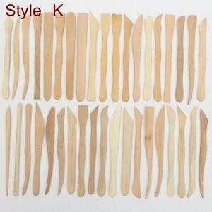 38-Stuecke-Holzgriff-Keramik-Keramik-Ton-Skulptur-Carving-Modellierung-Werkzeug