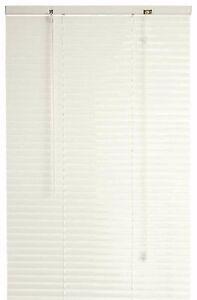Designer S Touch 1 Inch Vinyl Mini Blinds White 45x64 In 833385