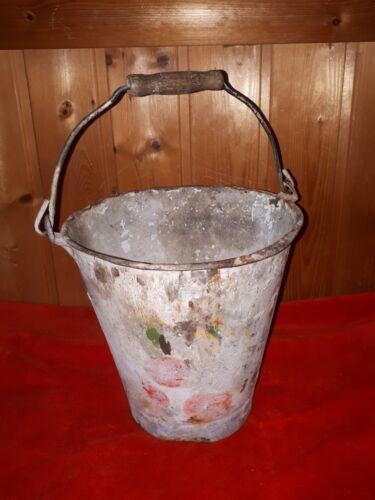 Alter Emaille Eimer, 5 Liter