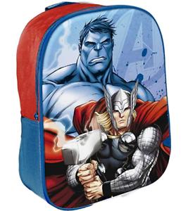 Marvel Los Vengadores Thor Hulk mochila 23 X 10 X 29 cm Nuevo Producto con licencia oficial