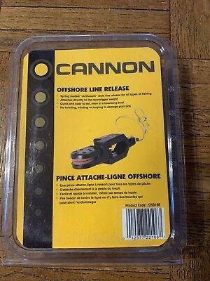 Cannon Offshore Line Release 2250106 Black medium tension
