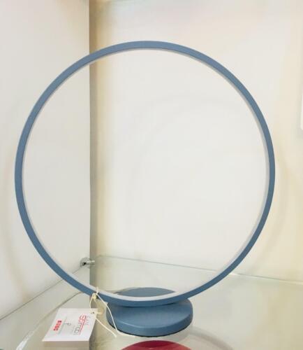 Lampada da tavolo LED Luce Naturale metallo verniciato Bianco - Grigio PERENZ