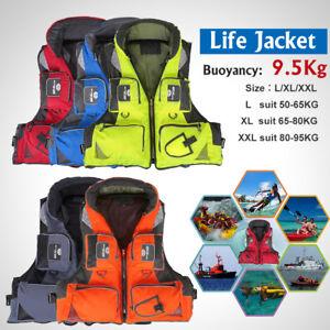 XTELARY Erwachsene Schwimmweste Rettungsweste 50-95Kg Life Jacket L/XL/XXL 2018