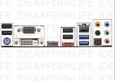 OEM NEW ASROCK IO I//O Shield backplate H270 PRO4 Z270 PRO4  #G6968 xh Y