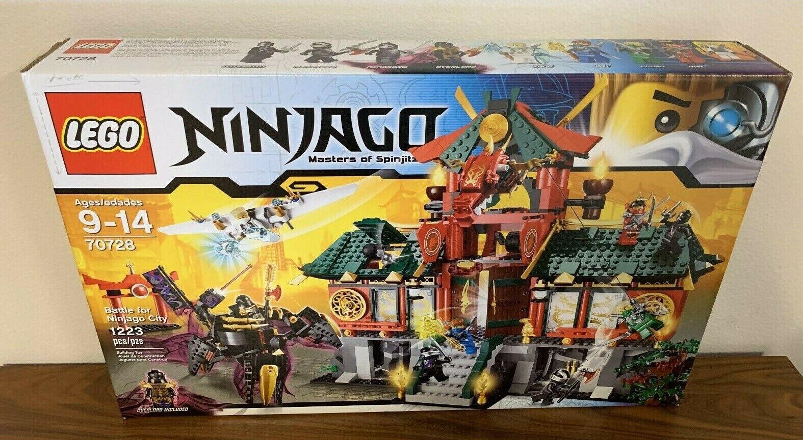 alto sconto LEGO Ninjago Ninjago Ninjago 70728  Battle for Ninjago città, nuovo in Factory Sealed scatola  economico e di alta qualità