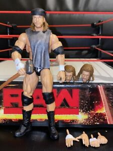 WWF-WWE-Elite-Mattel-Ultimate-Edition-Wrestling-Figure-New-Triple-H-Series-3