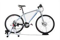 Confidence Pro Bike Turbo Trainer 7 Level Magnetic Resistance & Free Riser Block