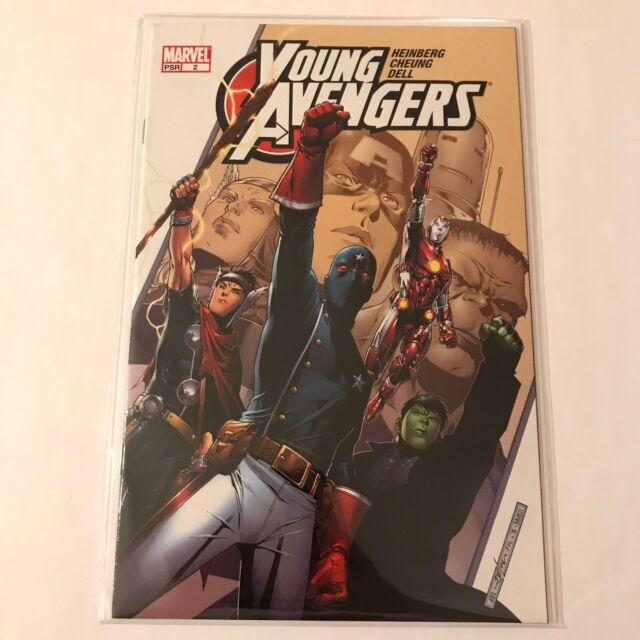 Young Avengers 2 Marvel Comics 2005 VF / NM Whedon 2nd Appearance Kate Bishop