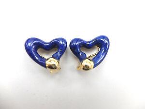 1-Paar-Ohrclips-besetzt-mit-je-einem-Herz-aus-Lapislazuli-in-750-Gold