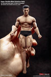2019 Super Flexible Male Seamless Body 1//12 TBLeague Normal Strong Man PH Figure