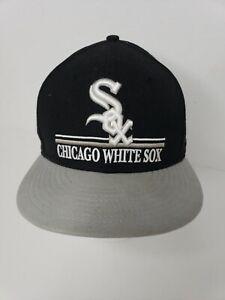 VINTAGE Chicago White Sox Hat Cap MLB Baseball New Era Snapback ... 80faa29df11