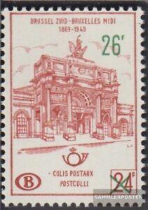 Belgien-PP55-kompl-Ausg-postfrisch-1963-Postpaketmarke