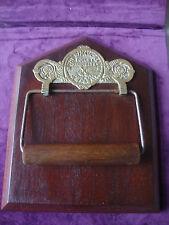 Genuine antique Victorian  toilet roll holder