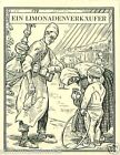 Lemonade seller Turkey Bulgaria Greece TOBACCO HISTORY HISTOIRE TABAC CARD 30s
