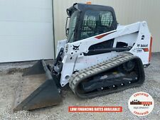 2019 Bobcat T630 Track Loader Erops 2 Speed Ride Control 83 Hrs Unsold Demo