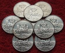 POLAND SET OF COINS PRL 10000 ZL SOLIDARITY 1990 YEAR !!! ONE PIECE LOT 1 PC