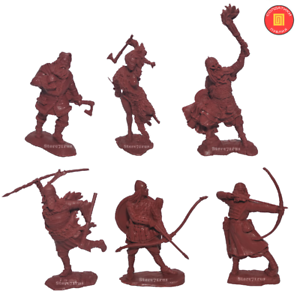 Publius Toy Soldier Vikings 1/32 scale Collectible NEW