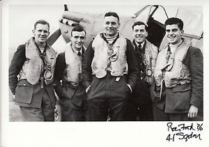 RAF-Spitfire-Battle-of-Britain-pilot-FORD-41-Squadron-personally-signed-photo
