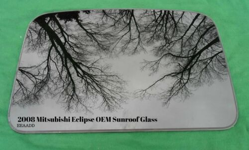 2008 MITSUBISHI ECLIPSE YEAR SPECIFIC OEM FACTORY SUNROOF GLASS FREE SHIPPING!