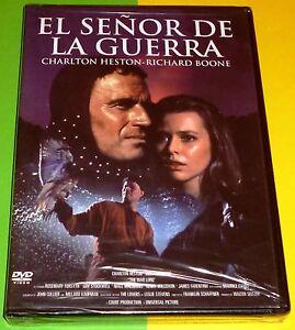 EL SEÑOR DE LA GUERRA - Charlton Heston - Precintada