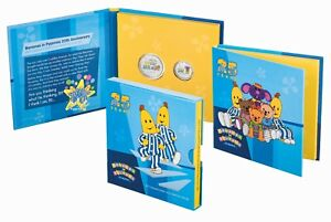 2017-Australia-Bananas-in-Pyjamas-25-years-Coloured-Frosted-UNC-Two-Coin-Set