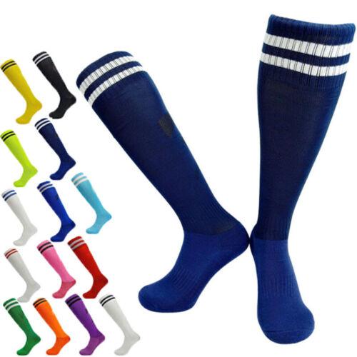 Herren Kinder Fussball Stutzenstrümpfe Fußballstutzen Stutzen Socken Paar