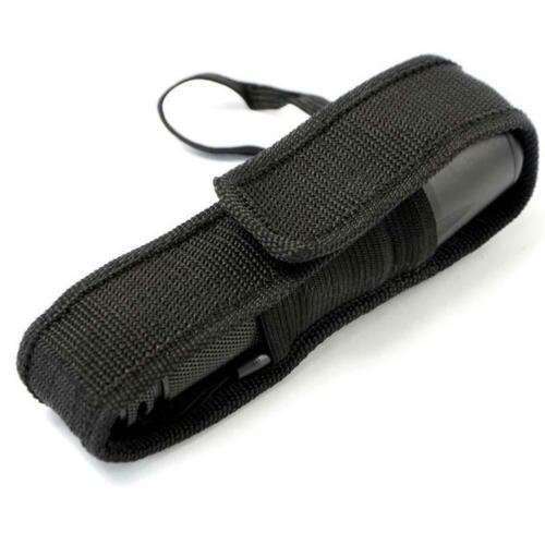 Nylon Holster Holder Belt Pouch Case Bag For C8 LED Flashlight Lamp Camping IR