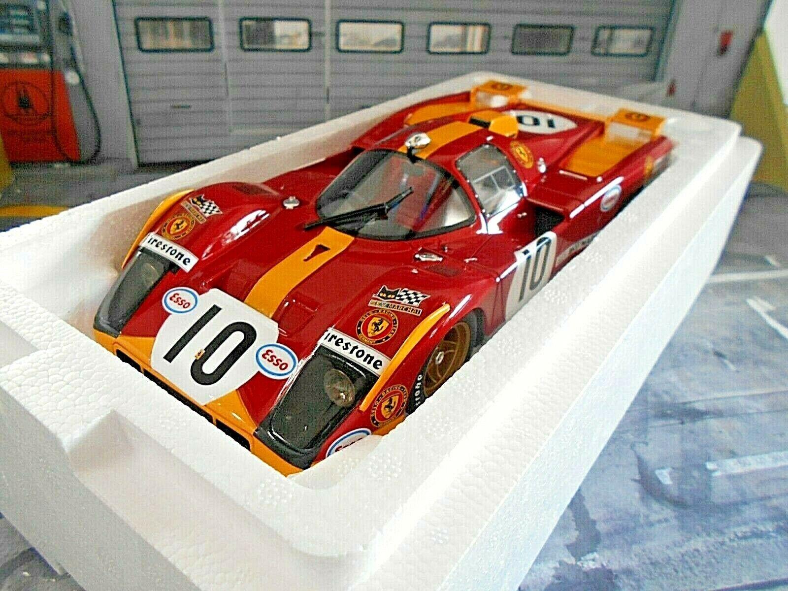 Ferrari 512 M 512 512 512 M 24 H LE MANS 1971  10 ensuspens PESCH Loos ESSO CMR Resin 1 18 cd5d1c